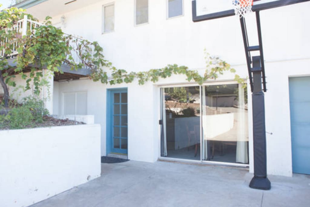Private entrance to your listing