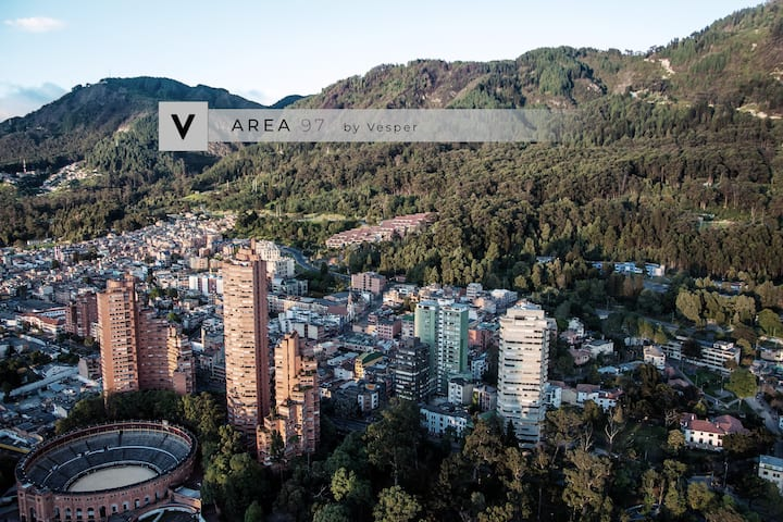 Vesper | Area97 | Beautiful Condo Parque 93 + Gym