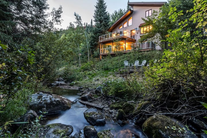 Perfectly Private | Hot Tub Nestled in Nature | Hear The Creek Rush By