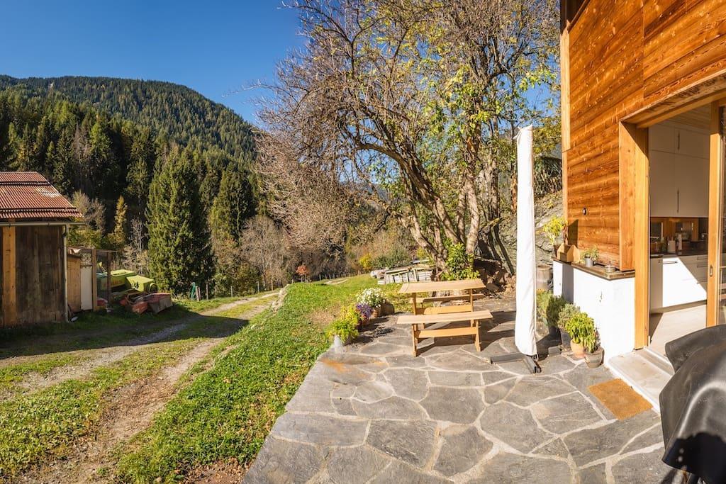 Ski-in location & sunny terrasse