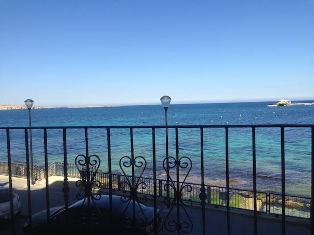 Flat on the beach. - San Pawl il-Baħar - Appartement