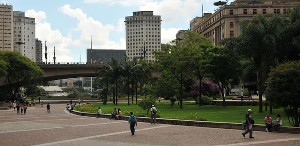 Aconchegante espaço no Centro de SP - Són Paulo - Pis
