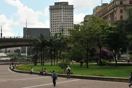 Aconchegante espaço no Centro de SP - São Paulo - Apartmen
