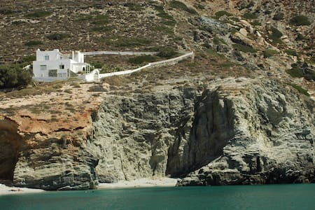 Deep Blue House in Folegandros - Villa