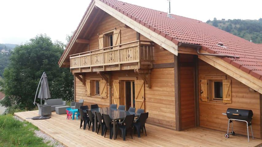 Chalet, centre ville - La Bresse - Haus
