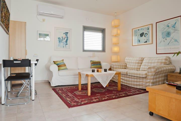 Living Room & indoor dining area