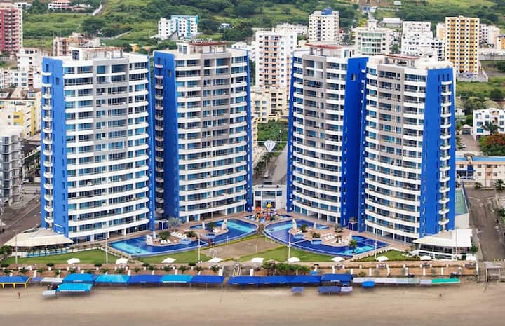 Departamento Diamond Beach Tonsupa Piso 11