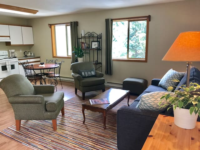 Private + spacious, Pemberton 1 bedroom suite.