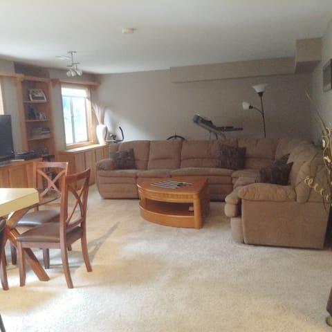 Spacious Bedroom/Living Room Suite