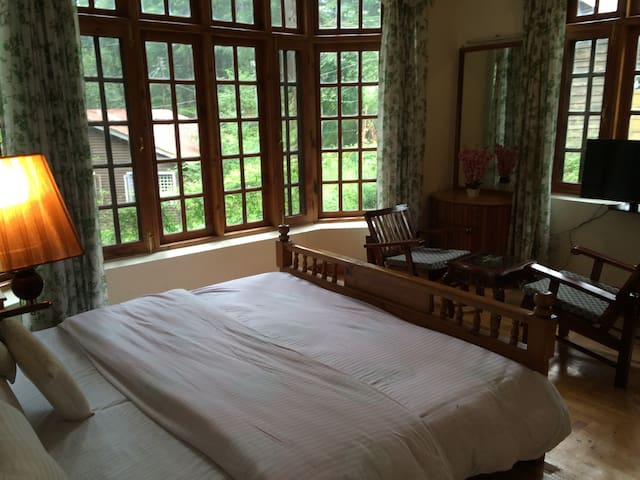 luxury and private room with fine amenity - Manali - Bungalov