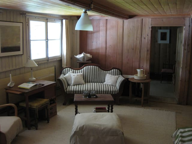 Old-style room in antiquated farmhouse