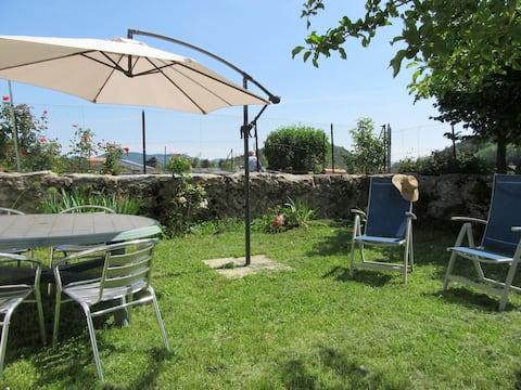 Gite avec jardin 5 personnes Pyrénées Audoise