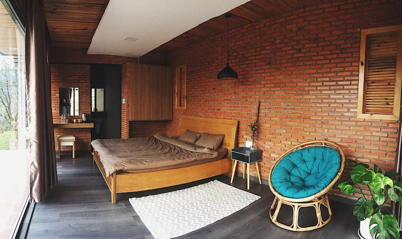Mặc homestay - Bungalow 1 bed view Tuyen Lam lake
