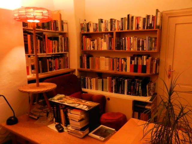 Unless you specify otherwise, I will leave my huge book collection. Many books on Art, History, Prague, CZ, and many other topics.
