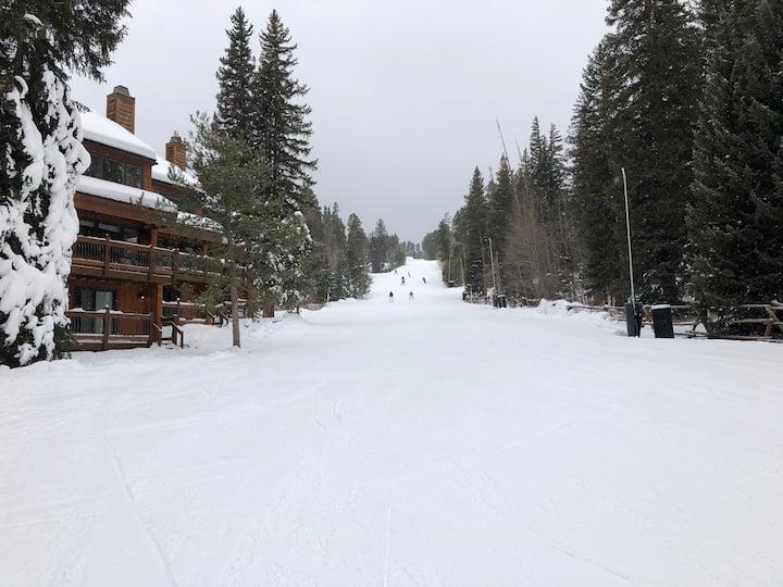 2bed/2bath - True ski-in/ski-out on 4 o'clock Run