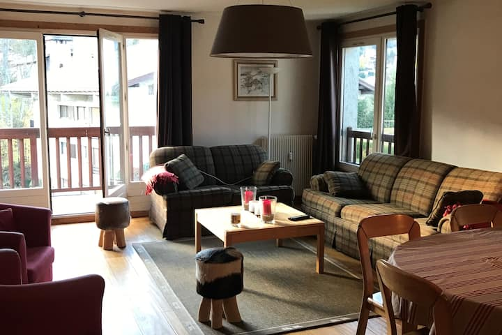 Grand appartement Megeve 3 chambres