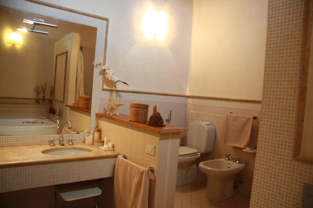 bagno della spa suite