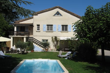 Luxurious family villa with pool - Gagnières