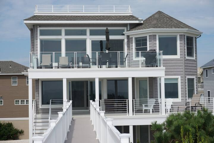 Surf City Escape! - New Oceanfront Home on LBI