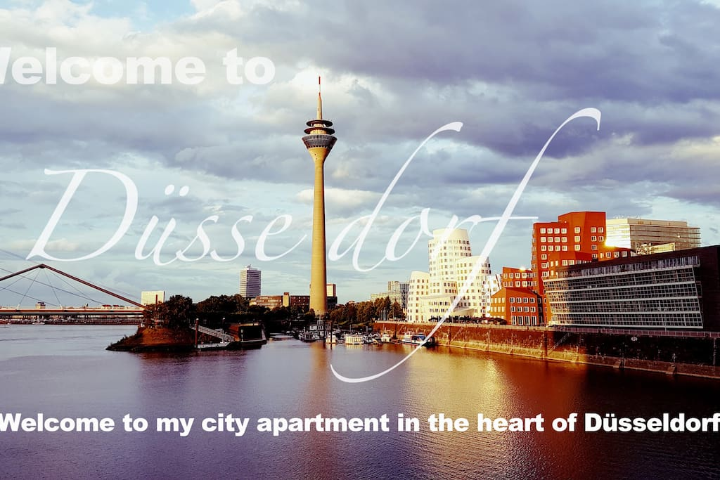 Welcome to my place in Düsseldorf