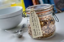 Our own home made Granola