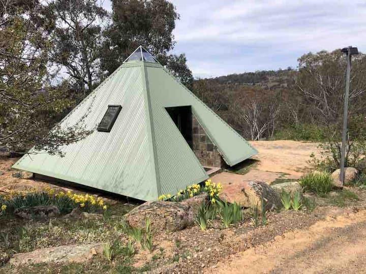 Self-Contained Pyramids in the Australian Bush