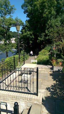 River Garden Apartment - Llangollen - Apartament