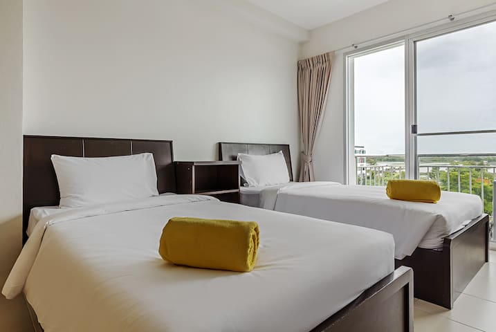 Stopover here with Twin beds! - Bangkok - Appartement