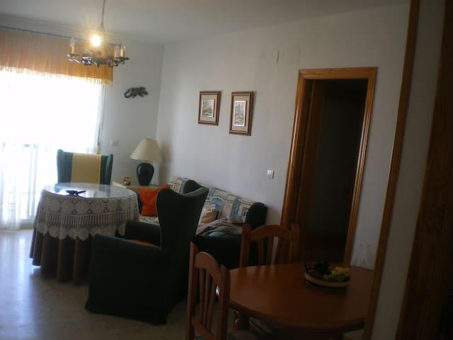 Apartamento a 150 m de playa, garaje, piscina - El Portil - Lakás