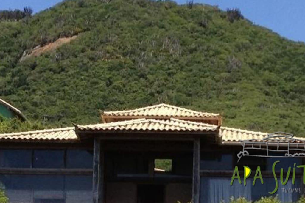 APA suítes,bela casa rústica em meio a natureza!