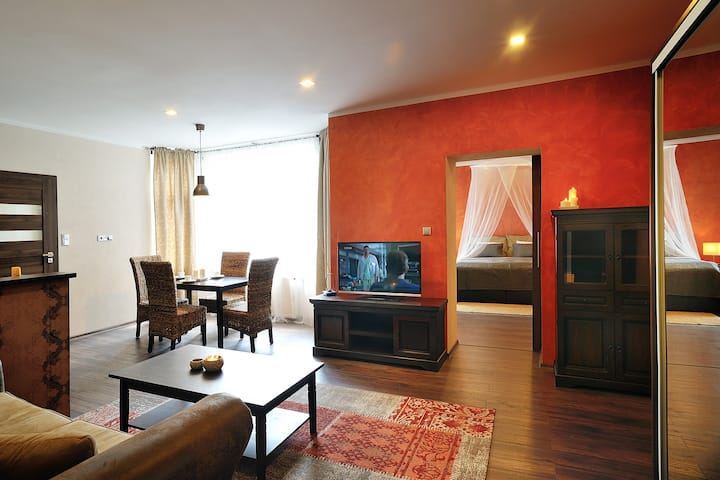 Luxury apartment in Ostrava city name Colonial