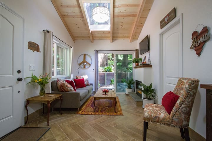 Modern meets Retro in the Redwoods