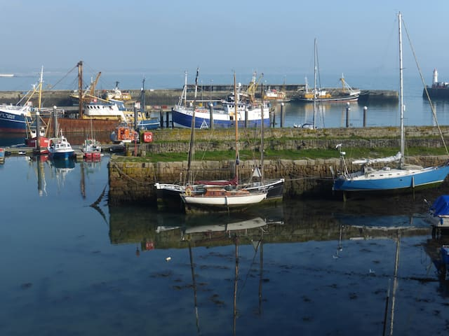 The old Pier, in Newlyn.