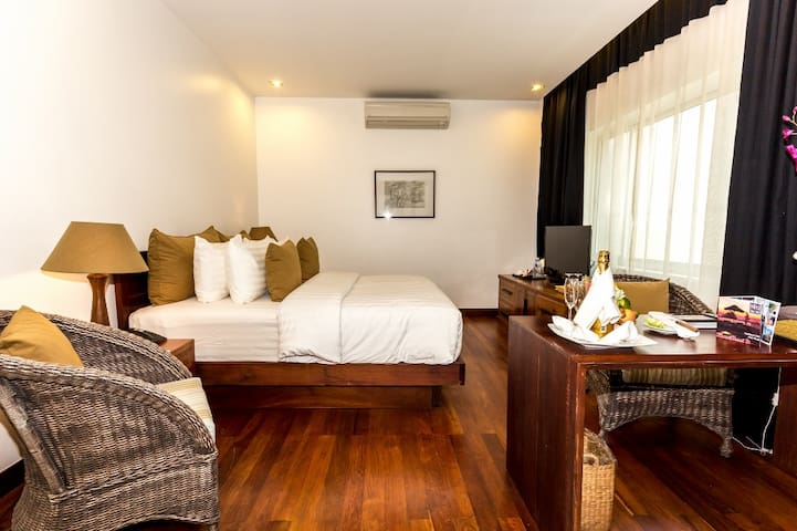 Sweet Double Room in Charming City - Krong Siem Reap - Daire