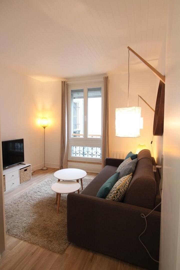 Appartement cosy très bien placé