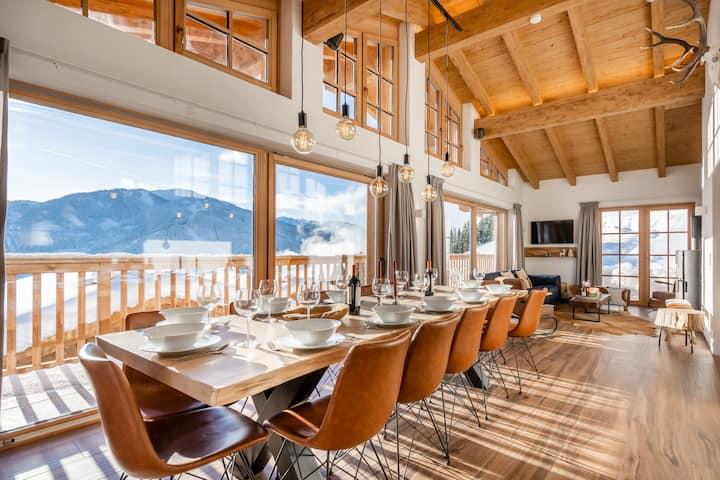 Hochkeil Lodge Luxury Chalet-Sauna-Stunning views