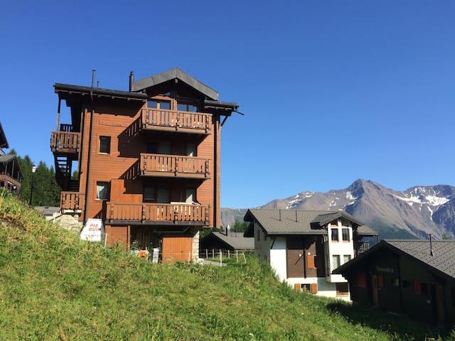 Sonnige Dachwohnung im Chalet Guxa - Bettmeralp - อพาร์ทเมนท์