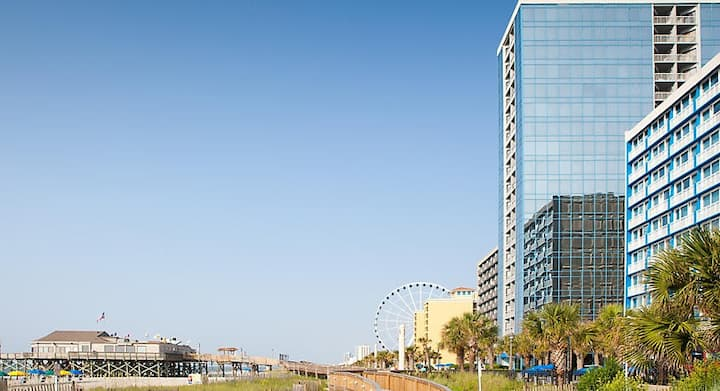 1 BR Condo @ SeaGlass Tower in Myrtle Beach