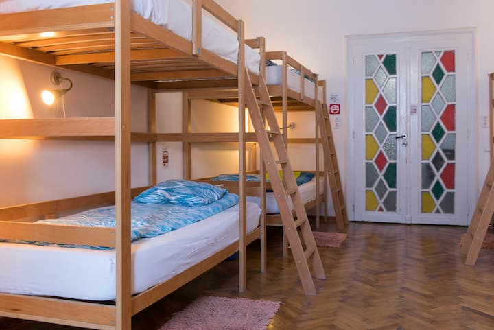 Bed in a dorm in Old Town - Centrum House Hostel