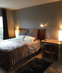 Private Bedroom - 5 minute walk to UofM Hospital - Ann Arbor