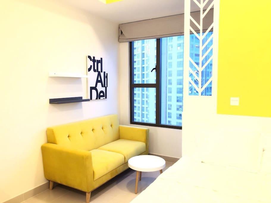 A cozy space!