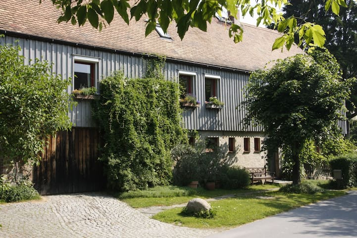 Ferienwohnung Landlust-stadtnah - Rammenau - Apartamento