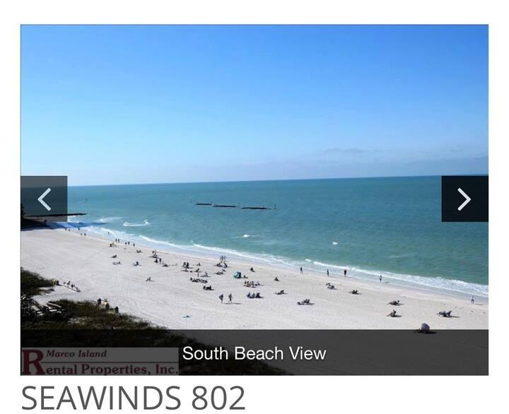Seawinds 802 Beach Front Condo!