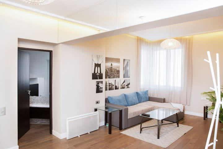 Newly renovated apartment in heart of the city