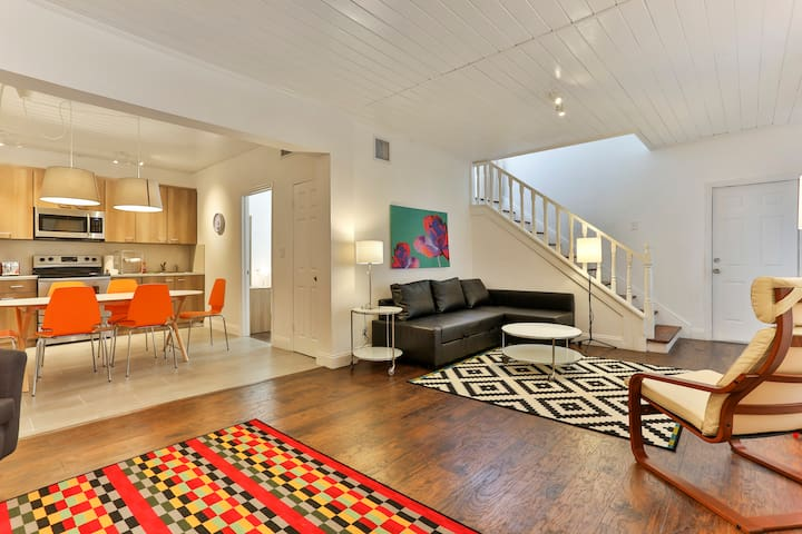 Classic West Brickell House Spacious with Garden - Miami - Talo