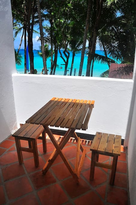 Balcony Facing the beach