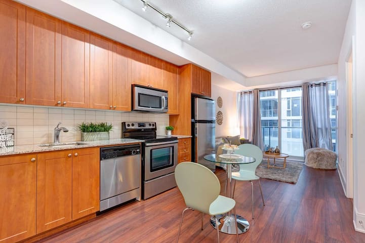 Cozy 1 bedroom Condo in trendy King West, Downtown