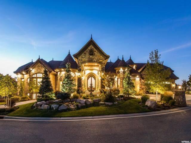 Stunning Castle nestled in Corner Canyon Draper