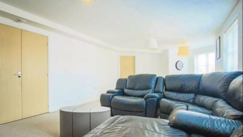 Modern open plan apartment - Lancashire