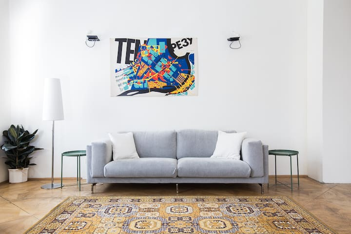 Design-Apartment near City Center